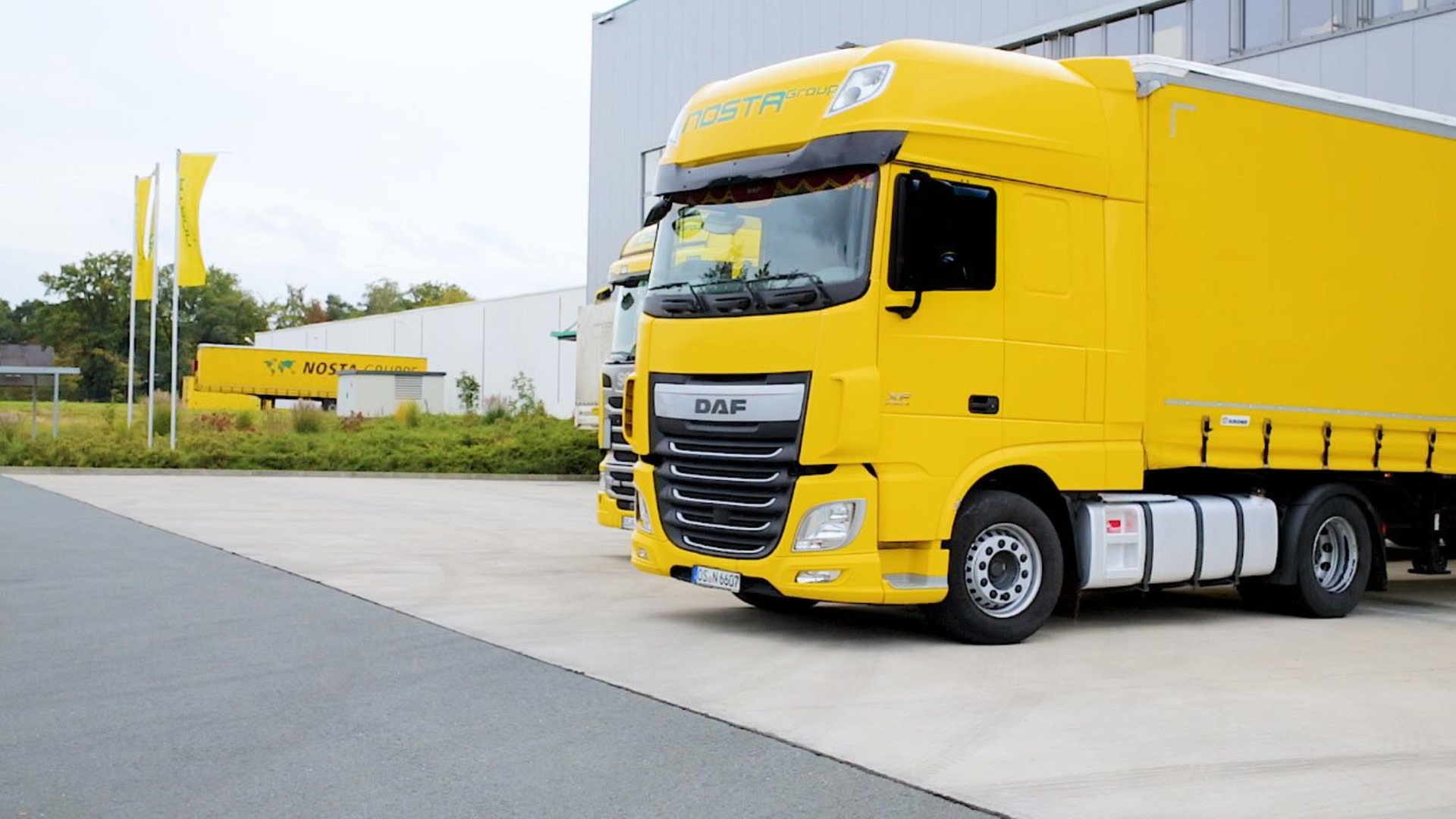 Picture of a NOSTA Group truck
