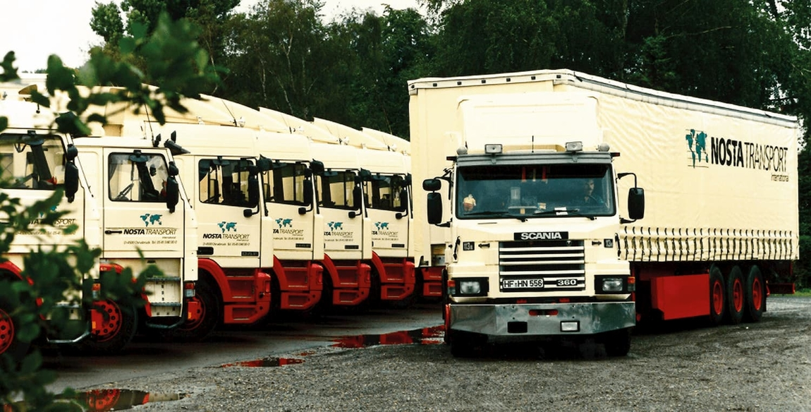 First truck fleet of the NOSTA Group