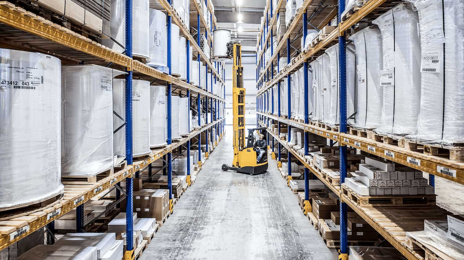 Picture from the warehouse in Siebenlehn