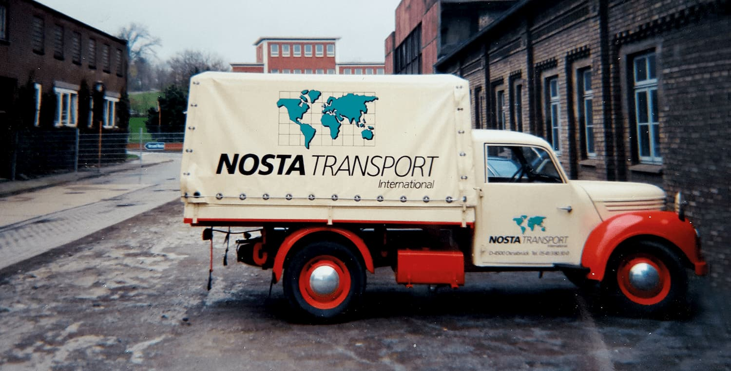 First NOSTA Transport truck 1978-1988